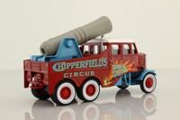 Corgi 17801; Scammell Constructor; Human Cannonball, Chipperfields Circus