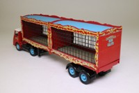 Corgi 11201; ERF KV; Artic Flatbed, Chipperfield's Circus Animal Cages; Lions & Tigers