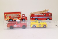 Corgi 31703; Chipperfields Circus 4 Pce Set; Land Rover, Morris Minor Pickup, Thames Trader & AEC Ergo Fire Engine
