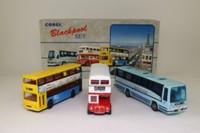 Corgi 97064; Blackpool 3 Bus Set; Plaxton Paramount, Routemaster & Metrobus