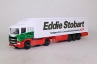 Corgi TY86649; Scania R Cab, 1:64 Scale; Artic Box Trailer, Eddie Stobart