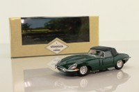 Corgi 98120; Jaguar E-Type; Soft Top; Hood Up; British Racing Green