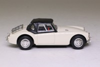 Corgi 96180; MGA Roadster; Closed; White, Black Hood