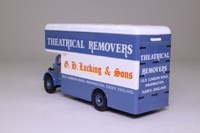 Corgi 97091; Bedford O Series Pantechnicon; GH Lucking & Sons Ltd; Theatrical Removers