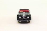 Dinky Toys 106; Austin Atlantic; Black, Red Seats