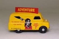 Corgi 98754; Bedford CA Van; Adventure Comic