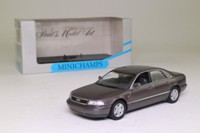 Minichamps 430 013001; 1994 Audi A8 Sedan (D2); Cashmere Metallic Silver