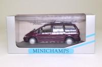 Minichamps 430 084162; 1995 Ford Galaxy; Red Metallic