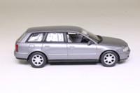 Minichamps 430 015010; 1999 Audi A4 Avant; Silver Metallic