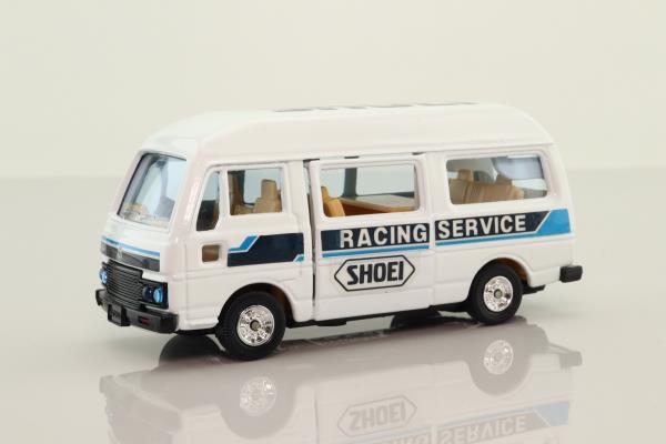 Tomica T22; Nissan Caravan E23 Bus; Shoei Racing Service