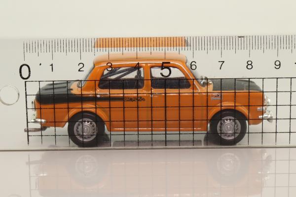 WhiteBox WB168; Simca 1000 Rallye 2; Orange & Black