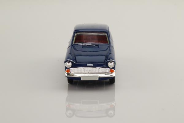 Vanguards VA1000; Ford Anglia 105E; Super, Navy Blue, Light Blue Stripe