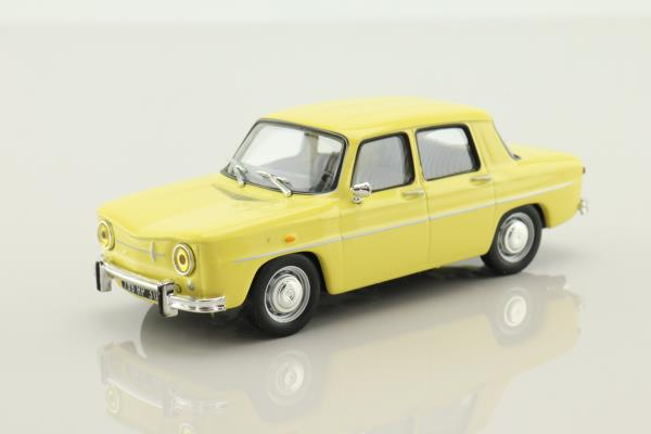 IXO; Renault 8 Saloon; 1964, Yellow
