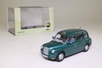 Oxford Diecast TX4007; London Taxi TX4; Peacock Green Metallic