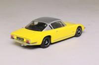 Oxford Diecast LE001; Lotus Elan Plus 2; Yellow & Metallic Silver