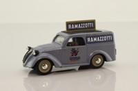 Brumm R53; 1936 Fiat 500 Van; Pubblicitario 500c, Ramazzotti, Grey