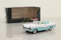 Detail 383; 1957 Ford Taunus 17M Cabrio; Light Blue & White