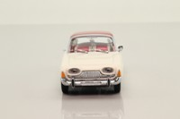 Minichamps 430 085100; 1960 Ford Taunus Saloon; White, Red Roof