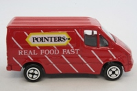 Corgi Small Scale 16a; Ford Transit Van (Juniors); Pointers, Red