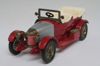Models of Yesteryear Y-2/3; 1914 Prince Henry Vauxhall; Red, Silver bonnet