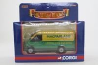 Corgi Classics CC07804; Ford Transit Van; MacFarlane Express Services; Leeds