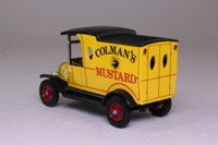 Models of Yesteryear Y-12/3; 1912 Ford Model T Van; Colman's Mustard: yellow, plain rear doors
