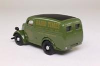 Dinky Toys DY-4; 1950 Ford E83W Van; Radio Times; dark green
