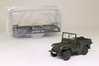 DeAgostini 00; 1947 Willys Jeep; Military Drab