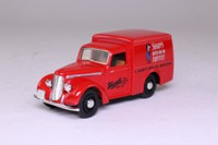 Dinky Toys DY-8; 1948 Commer 8cwt Van; Sharp's Super-Kreem Toffee, Maidstone; Red