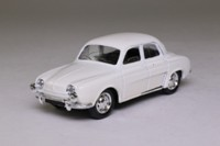 Solido 1960 Renault Dauphine; White - Century of Cars Series #35