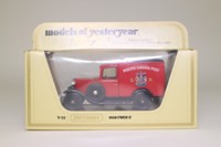 Models of Yesteryear Y-22/1; 1930 Ford Model A Van; Canadian Royal Mail