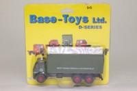 Base Toys 00; Leyland Mouthorgan Cab; 6 Wheel Box Van, BRS Parcels