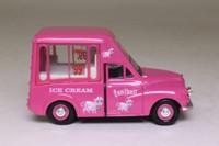 Oxford Diecast MM043; Morris Minor Van; Tonibell Dairy Ice Cream, Pink