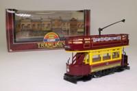 Corgi Classics D991/4; Double Deck Tram Open Top, Open Platform; Bournemouth Corporation: County Gates
