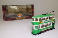 Corgi Classics D993/2; Double Deck Tram, Closed Top, Closed Platform; Dover Corporation; Maxton, Hartley's Preserves
