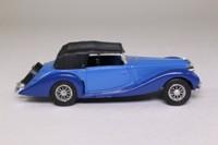 Solido 4048; 1939 Delahaye 135M Figoni-Falaschi; Soft Top, Two Tone Blue