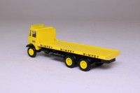 EFE 10703; AEC Mammoth Major 6W Rigid Flatbed; Wimpey, Yellow