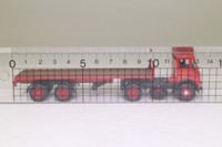EFE 19301; Atkinson 4x2 Artic Twin Axle Flatbed; Suttons, St Helens