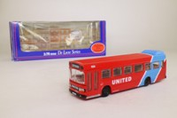 EFE 14403DL; Leyland National Mk1 Bus; United; Rt 56 Middlesborough (sic) via Guisborough