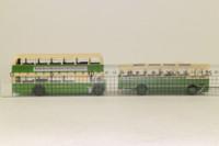 EFE 99907; Southdown Bus & Coach Set No 1; Bristol Lodekka Rte 1a Whitehawk & Harrington Cavalier, English Lakes