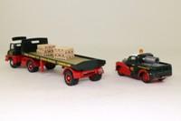 Corgi Classics 31704; Eddie Stobart 2 Pce Set; Thames Trader Artic & Morris 1000 Pickup