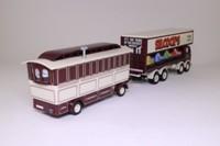 Corgi Classics 24801; Leyland Mouthorgan Cab; 8 Wheel Dodgem Truck & Caravan; Silcock's