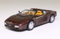 Detail 145; 1991 Ferrari 512 TR Spider; Dark Burgundy