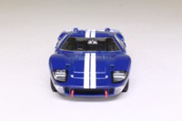 del Prado; 1966 Ford GT MkII; Blue, White Racing Stripes
