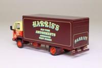 Oxford Diecast 76FCG003; Ford Cargo Truck; Rigid Box Van, Harris's Old Tyme Amusements