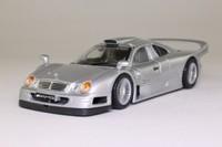 Maisto 31949; Mercedes-Benz CLK-GTR; Street Version, Silver Metallic