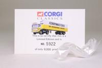 Corgi Classics 21301; AEC Ergomatic Cab; Articulated Box Trailer, Ferrymasters International Hauliers