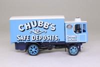 Models of Yesteryear Y-37/1; 1929 Garrett Steam Wagon; Chubb's Safe Deposits