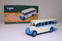 Corgi Classics 97101; Bedford OB Duple Vista Coach; Island Transport, Scilly Isles, Vics Tours
