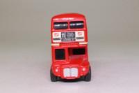 Corgi 1004; AEC Routemaster Bus; Beep Beep Bus, London Transport; Rt 11 Liverpool St, Chelsea, Charing X, Fleet St; BTA Welcome to Britain